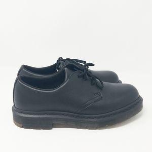 Dr.Martens Black Leather Oxford ASTM Safety Shoe